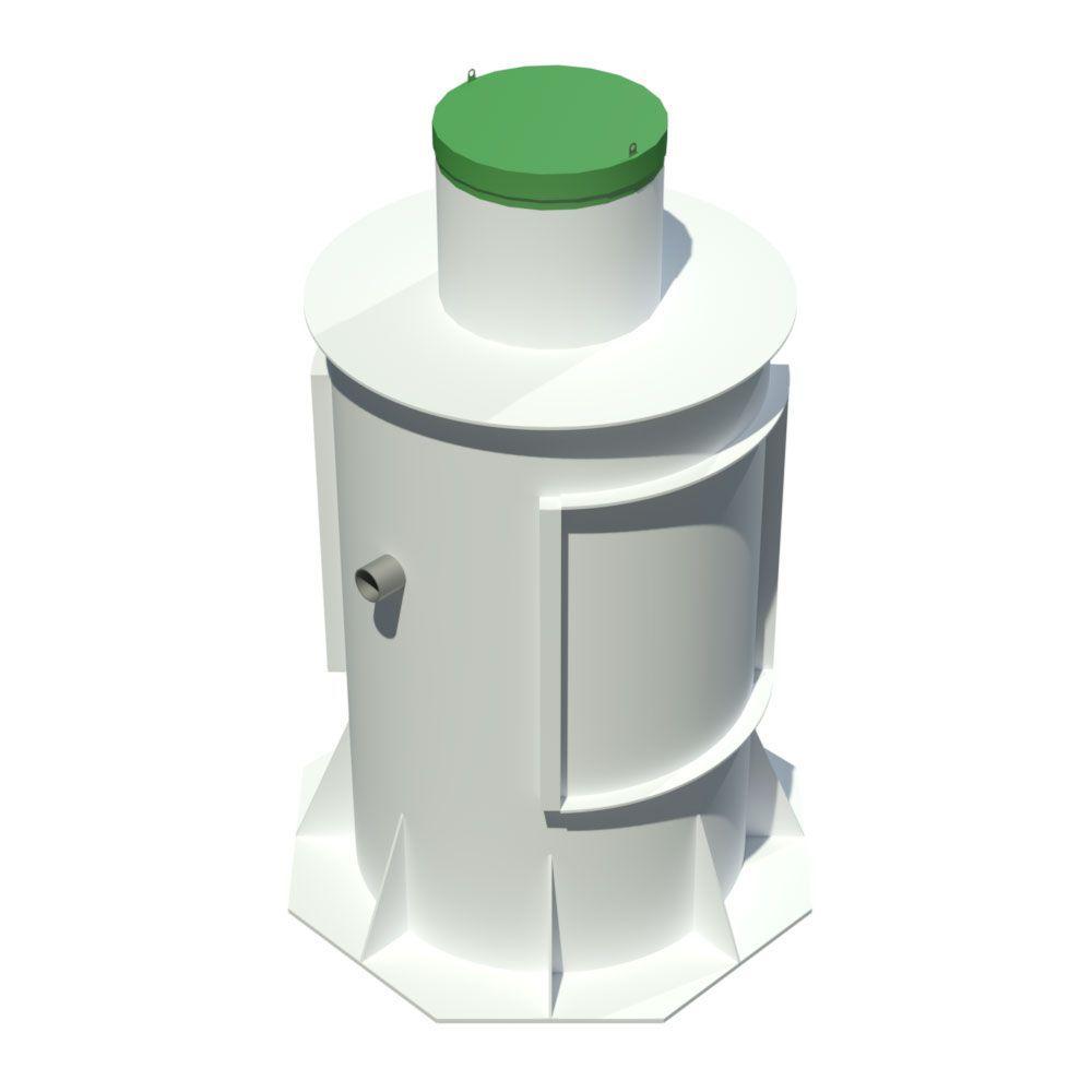Система автономной канализации Тополь 12 Плюс на 10-12 проживающих