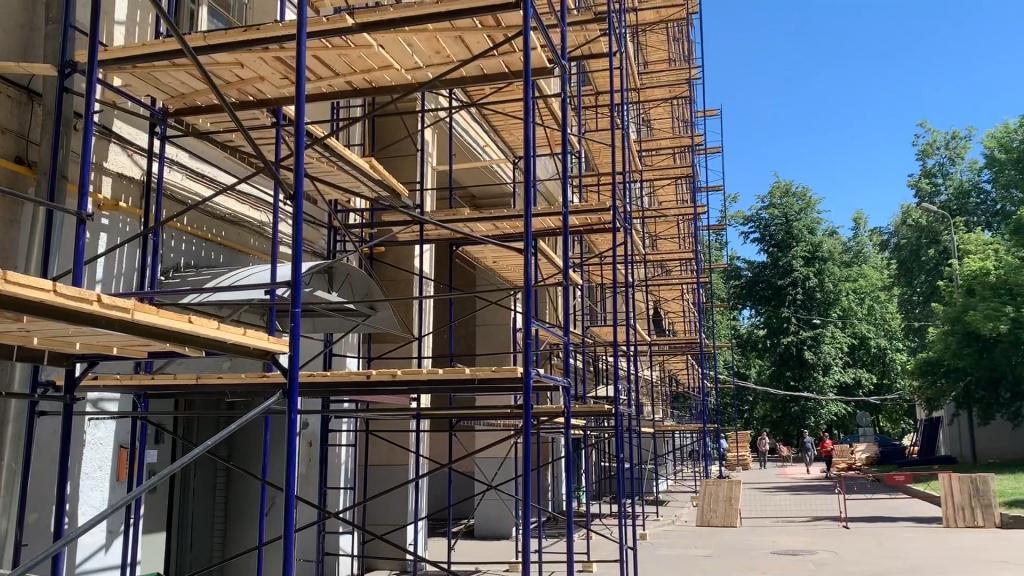 Леса рамные строительные приставные купить в Ступино