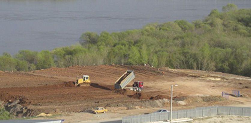 Принимаем строительный мусор, грунт, бетонит и тд