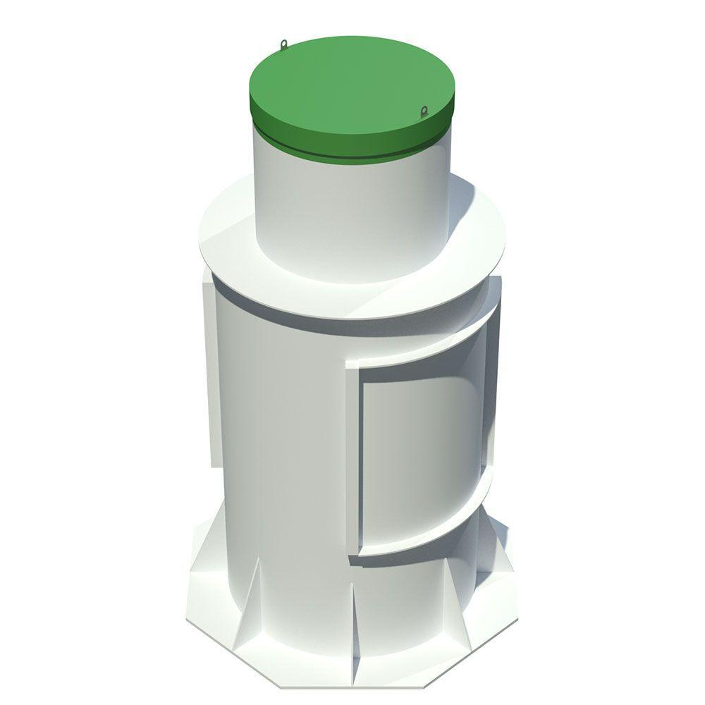 Современная станция автономной канализации Тополь 9 ПР Плюс