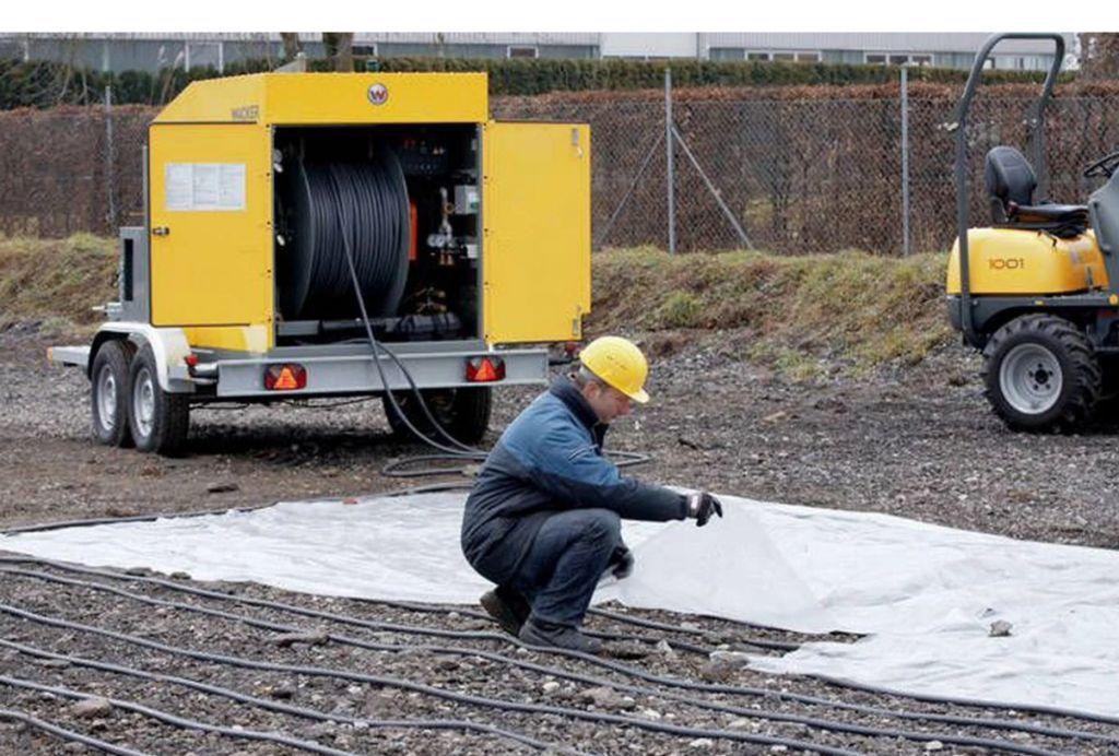 Аренда установки для прогрева грунта и бетона