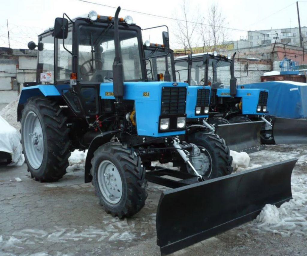 Аренда трактора мтз-82.1 / уборка снега