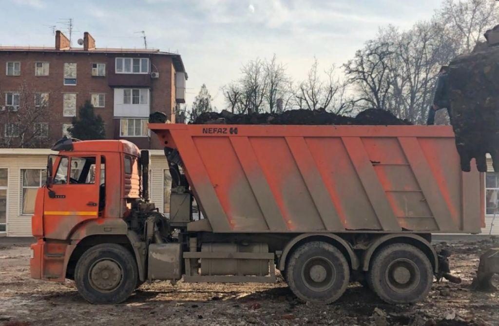 Вывоз и утилизация грунта / мусора строительного