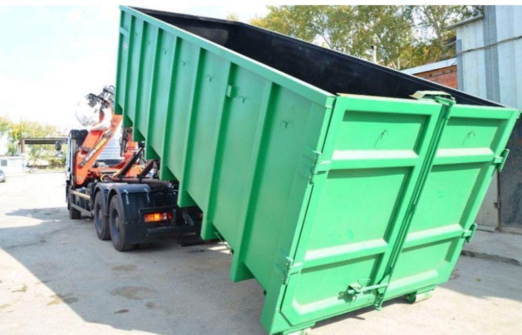 Вывоз строительного мусора. Вывоз мусора контейнер