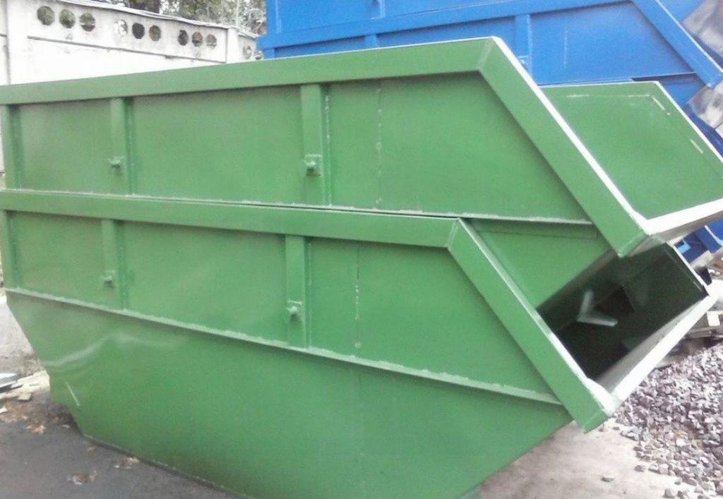 Вывоза мусора контейнером 8м3