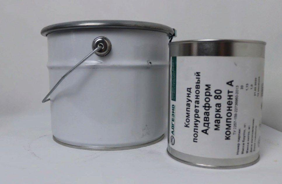 Полиуретан для форм Адваформ Марка 80 - 3.5 кг