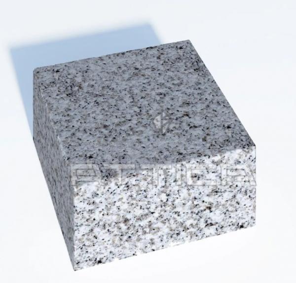 Гранитная брусчатка полнопиленная 100х100х50
