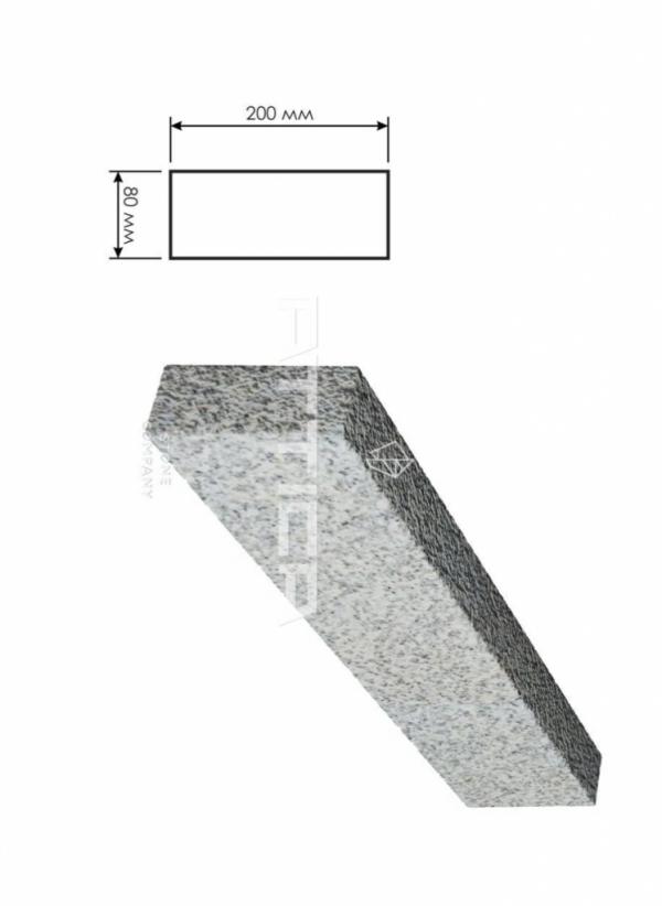 Гранитный бордюр ГП-5